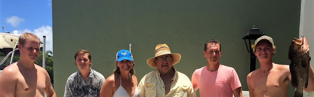 dad and fam in keys crop